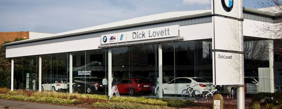 Dick Lovett BMW Bristol