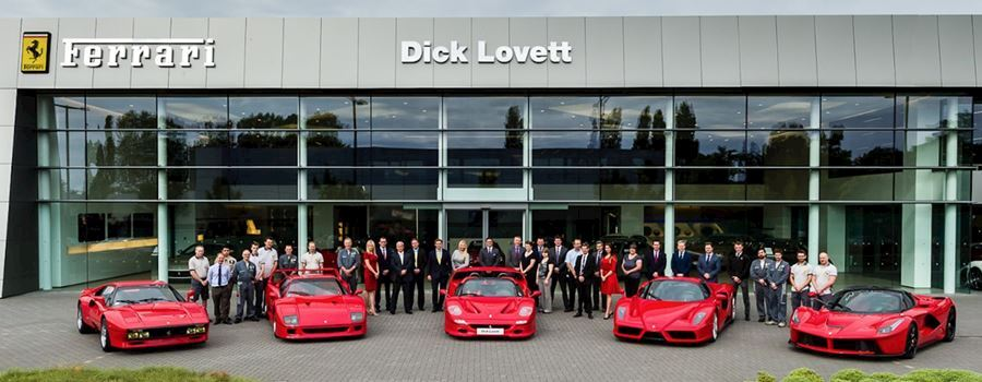 Dick Lovett - Official Ferrari Dealer - Swindon