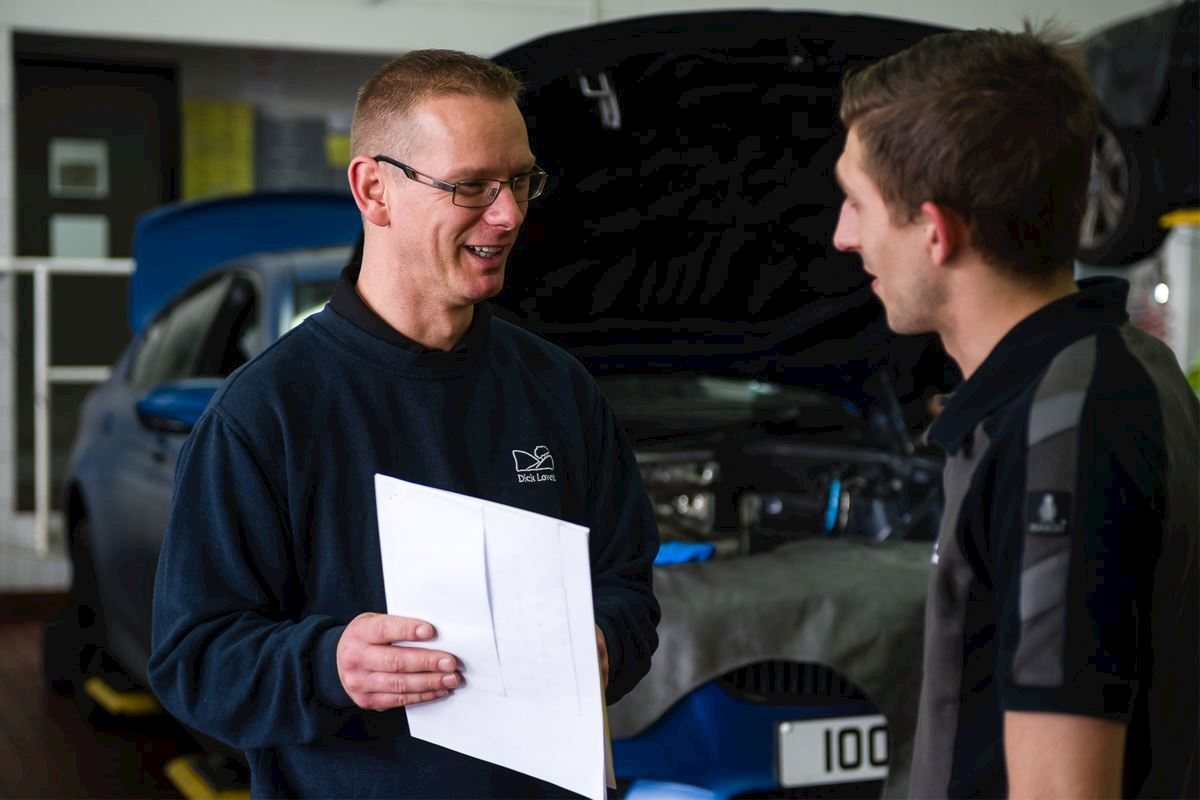 A unique skill set led us to create a unique role; Mark is the first ever Technical Service Advisor at Dick Lovett.