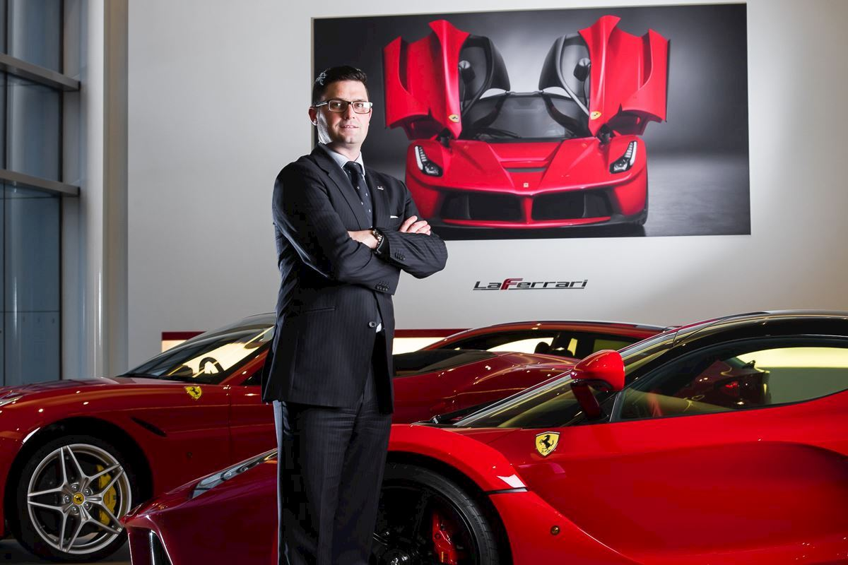 From paperboy to Dealer Principal of Ferrari, Matthew explains how P.R.I.D.E was his foundation for growth in Dick Lovett.