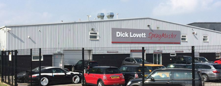 Dick Lovett Spraymaster Swindon